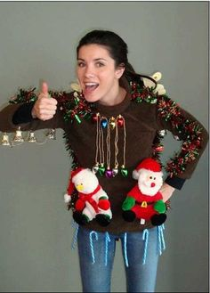 Crazy Christmas Shirt Day | Avalon Independent School District